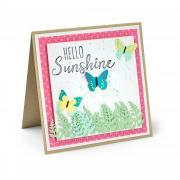Hello Sunshine Butterflies Card
