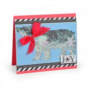 Joy Bear Shaker Card