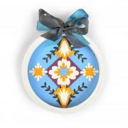 Folk Art Embroidery Hoop