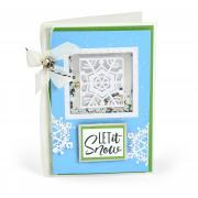 Let it Snow Shaker Card