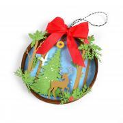 Woodland Embroidery Hoop
