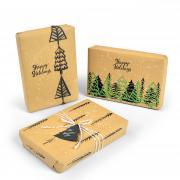 Winter Trees Gift Wrap