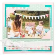 Birthday Party Scrapbook Page