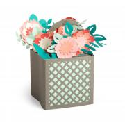 Flower Basket Card in a Box #2