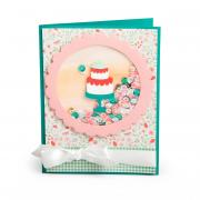 Birthday Shadow Box Shaker Card