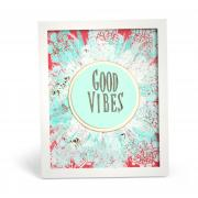 Good Vibes Frame Art