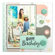 Birthday Scrapbook Page