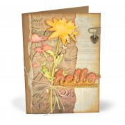Hello Wildflowers Card