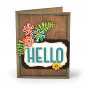Hello Flowers Card #5