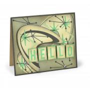 Atomic Hello Card