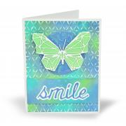 Smile Butterfly Card #3