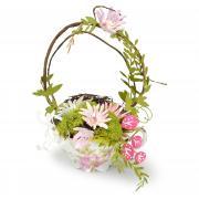 Wildflower Stems Easter Basket