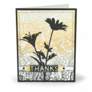 Thanks Wildflowers Card