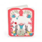 Folk Art Lantern Card
