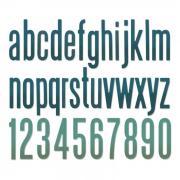 Sizzix Thinlits Die Set 96PK - Alphanumeric Classic Lower by Tim Holtz