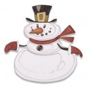 Sizzix Thinlits Die Set 11PK - Mr. Snowman, Colorize by Tim Holtz