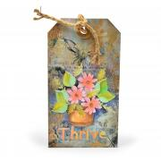 Thrive Flower Pot Tag