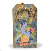 Bloom Flower Pot Tag