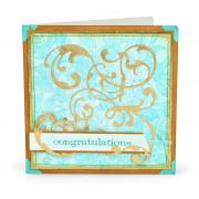 Congratulations Swirls Card