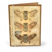 Found Bees Card