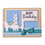 Llamas Birthday Card