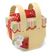 Picnic Basket Favor Box #2