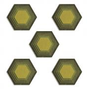 Sizzix Thinlits Die Set 25PK - Stacked Tiles, Hexagons by Tim Holtz