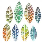 Sizzix Thinlits Die Set 8PK - Cut Out Leaves  by Tim Holtz