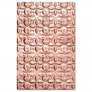 Sizzix 3-D Textured Impressions Embossing Folder - Adorned Tile