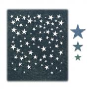 Sizzix Thinlits Die Set 4PK - Falling Stars by Tim Holtz