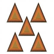 Sizzix Thinlits Die Set 25PK - Stacked Tiles, Triangles by Tim Holtz