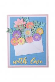 Flowers with Envelope Card