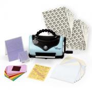 Sizzix Texture Boutique Embossing Machine Bonus Kit w/20 FREE Adhesive Sheets