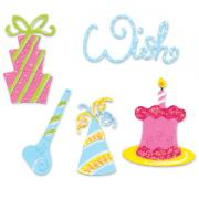 Sizzix Sizzlits Die Set 4PK - Celebration Set #2