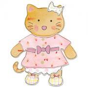 Sizzix Bigz Die - Animal Dress Ups Kitty