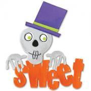 Sizzix Bigz Die - Phrase, Sweet w/Skull & Top Hat