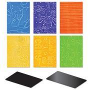 Sizzix Texturz Texture Plates - Starter Kit #4