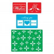 Sizzix Textured Impressions Embossing Folders 4PK - Winter Set #2