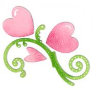Sizzix Bigz Die - Flourish & Hearts
