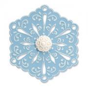 Sizzix Bigz Die w/Bonus Textured Impressions - Snowflake #4