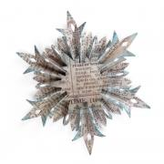 Sizzix Sizzlits Decorative Strip Die - Snowflake Rosette