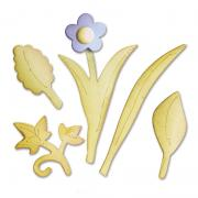 Sizzix Bigz Die - Leaves, Bouquet