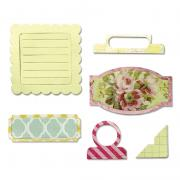 Sizzix Thinlits Die Set 6PK - For the Record