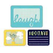 Sizzix Thinlits Die Set 3PK - Laugh Today