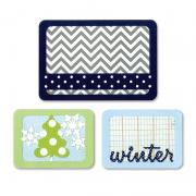 Sizzix Thinlits Die Set 3PK - Winter
