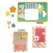 Sizzix Thinlits Die Set 14PK - Hello Life