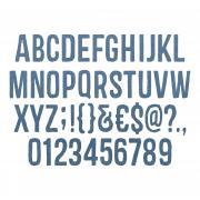 "Sizzix Thinlits Die Set 102PK - Alphanumeric (1"" Tall) by Tim Holtz"