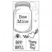 Sizzix Interchangeable Clear Stamps - Bee Mine
