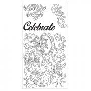 Sizzix Clear Stamps - Celebrate Flowers