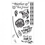 Sizzix Clear Stamps - Mom